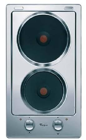 Whirlpool AKT 310 IX Table de Cuisson Electrique 28,8 cm Inox