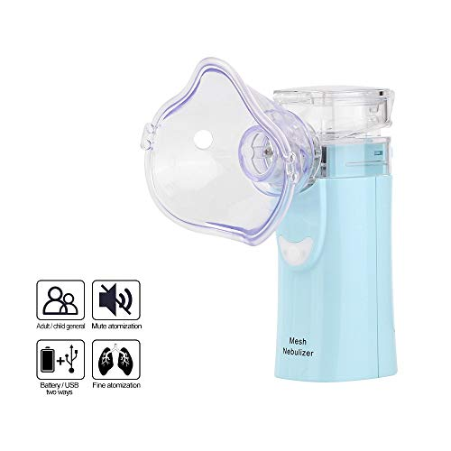 CWWHY Vaporizers Portable Handheld Travel Steam Compressor Geräuschlos Cool Mist Luftbefeuchter Maschine Für Erwachsene & Kinder Home Daily Useaily Verwenden