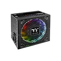 ‏‪Thermaltake Toughpower iRGB Plus 1050W 80+ Platinum Digital RGB LED Smart Zero Fan SLI/CrossFire Ready ATX12V v2.4 / SSI EPS v2.92 وحدة امدادات طاقة كاملة‬‏