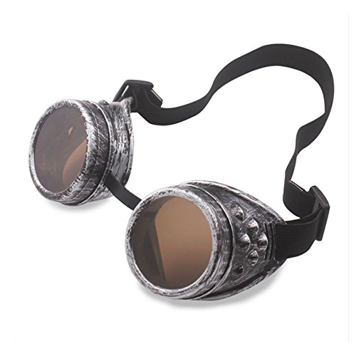 Steampunk Stil Brille Glasses Goggles Steampunk Vintage Sonnenbrille Dawnzen®