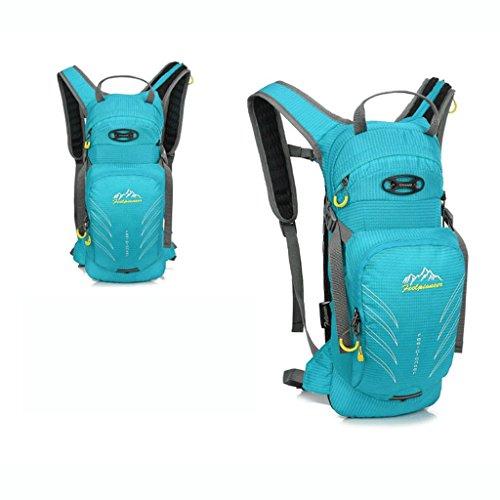 Pathfinder Pioneer atmungsaktive Berg im Freien Fahrradtasche Reiten Rucksack Mountainbike Tasche Umh?ngetasche 15L Blau