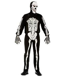 My Other Me Me - Disfraz de esqueleto para adultos, talla S (Viving Costumes MOM00218)