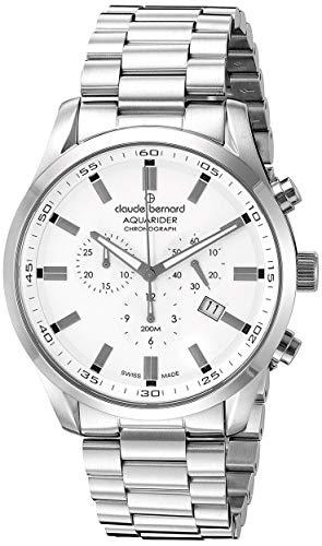 Claude Bernard by Edox Aquarider Men's Watch 10222.3M.AIN Chronograph Swiss Made