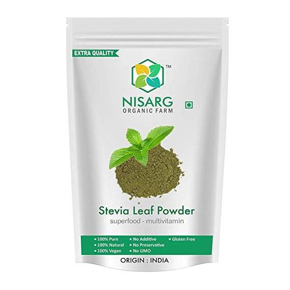 Nisarg Organic Stevia Leaf Powder (1kg)