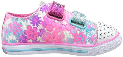 Skechers Chit Chat, Mädchen Sneakers Weiß (wmlt)