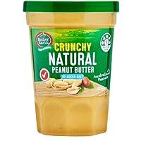 Mother Earth Peanut Butter Crunchy (No Added Salt) Natural - 380g