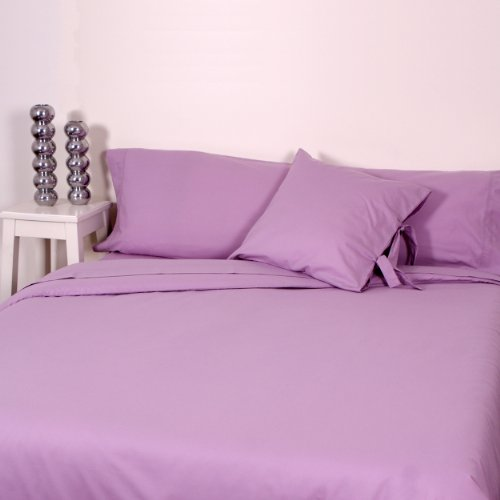 ASA 52102406199C384 - Funda de almohada, Algodón, Color Rosa lila, 50x70x0.1 cm