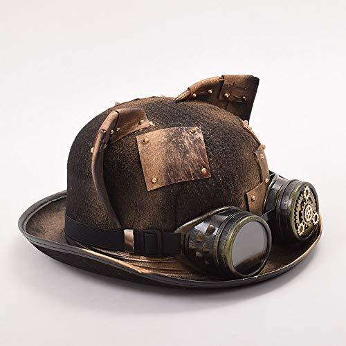 GRACEART Donna Gatto Orecchie Steampunk Cappello