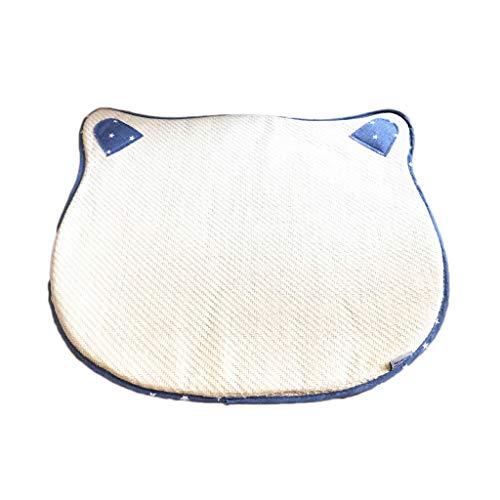 Alfombrilla de enfriamiento para Mascotas, Felpudo para Gatos y Perros Alfombrilla de enfriamiento para enfriamiento de Verano, sombrillas refrescantes para Paja Tejidas a Mano