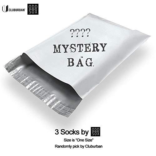 Sox Tattoo (ODD SOX Men's 3 Socks for $15 One Size (Mystery Bag))