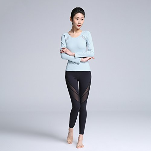 ZCJB Abbigliamento Da Yoga Professionale Abbigliamento Da Ballo Da Donna ( Colore : Rosa , dimensioni : M ) Dai Cyan