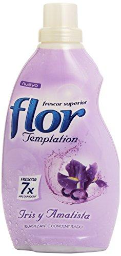 Fleur adoucissant concentré, 38Lavages Temptation Iris-870ml