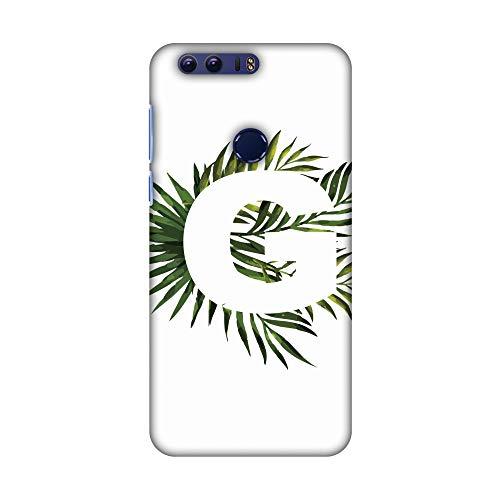 Hartschalen-Schutzhülle für Huawei Honor 8 (dünn, handgefertigt, mit tropischem Fern-G, Ultraleicht)