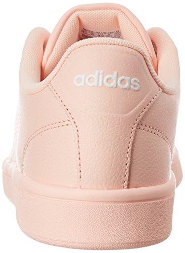adidas Cloudfoam Advantage, Sneakers Basses Femme Rosa