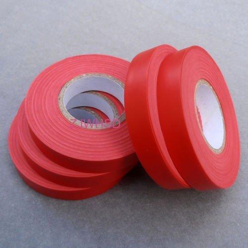 5Rolle rot Klebeband für Binden Maschine Teilen/Supplies (je Sicherheitskamera Tape) [hrus]