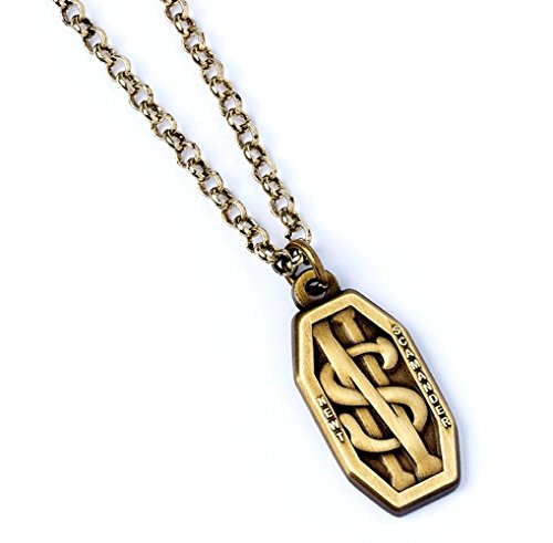 Ufficiale fantastico bestie Newt Scamandro Logo Collana