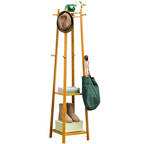 48 Wall Coat Rack (HTHBKPR Moderner Minimalist Stehgarderobe Kreative Schlafzimmer Metall Wohnzimmer Kleiderregal Rosa 175x48cm Garderobe)