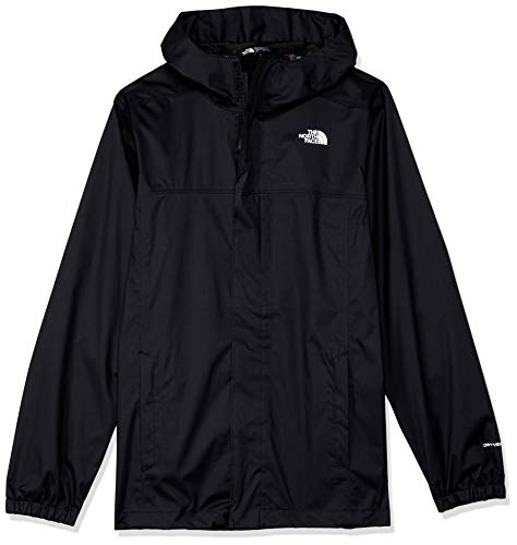 THE NORTH FACE Jungen Resolve Reflective Jacke, TNF Black, L -