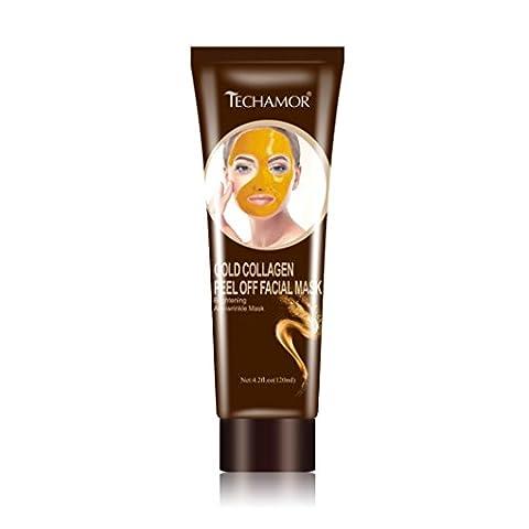 12shage Gold Collagen Peel Blackhead Remover Off