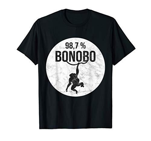 Affe Shirt Schimpanse Bonobo DNA -
