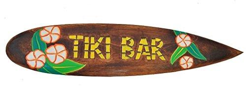 Surfbrett 100cm Dekoration Südsee Mauii Surfboard Tiki Bar