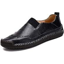 8c9d5208ae7 GPF-fei Zapato de Hombre Cuero Lazy Zapatos Loafers Zapatos de conducción  Zapato de Barco