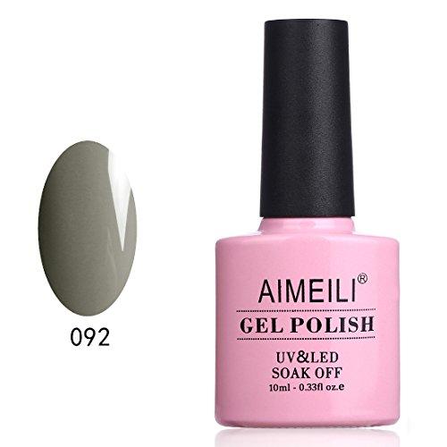 Aimeili smalto semipermente per manicure smalti per unghie in gel soak off uv led - shelter for tears (092) 10ml