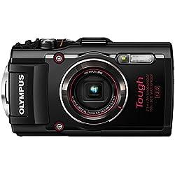 """Olympus Tough TG-4 Appareil photo numérique 16,76 Mpix Écran 3"""" Zoom Optique 4 x Noir"""