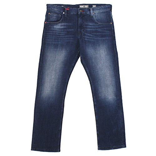 MUSTANG Herren Chicago Tapered Fit Jeans, Blau (Rinse 080), W34/L30