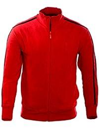 Sweat à capuche en coton pour homme GRAVEL - Red by Gear