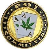 Poker Card Guard/Displayschutzfolie-Topf verpflichtet