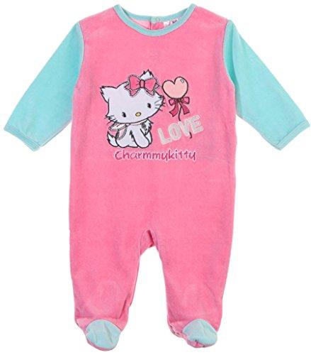 Pyjama bébé fille Charmmy kitty 'Love' rose/turquoise 23mois