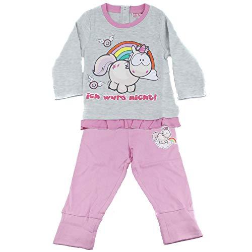 TVM Europe GmbH Baby NICI weicher Pullover und Hose Set für Mädchen Baumwolle Rundhals Kragen (86/92) (Baby-mädchen-pullover-sets)