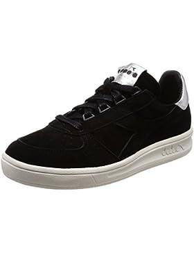 Diadora Heritage Donna, B. Elite W Metallic Black, Suede/Pelle, Sneakers, Nero