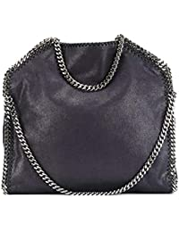 Stella McCartney 234387W91324061 Mujer Azul Cuero sintético Bolso de mano
