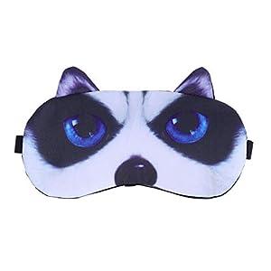 HEALIFTY 3D Cartoon Augenbinden Schlaf Augenmaske Ice Compress Schlaf Augenmaske Abdeckung Nette Eyeshade Augenklappe