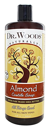 Dr. Woods - Shea Vision Castile Soap With Organic Shea Butter Pure Almond - 32 oz. by Dr. Woods