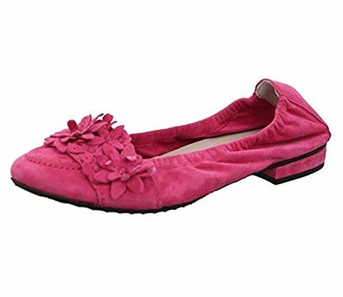Kennel & Schmenger 10130-499, Ballerines pour Femme Rouge Rot 41 EU