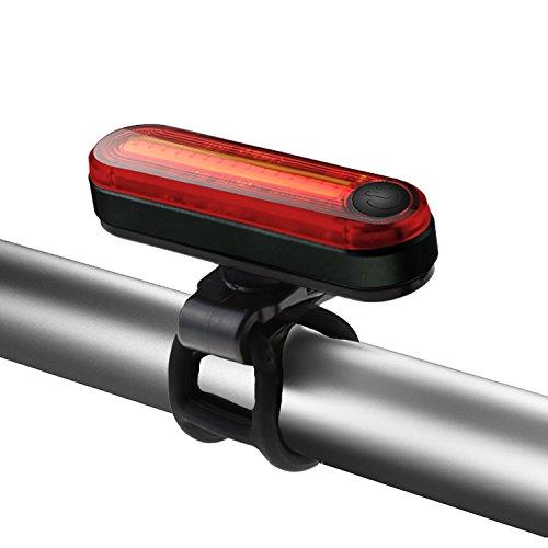 Fahrradbeleuchtung, Degbit Super Hell LEDFahrradlicht Rücklicht IPX-4 Wasserdicht USB Wiederaufladbare Sport Fahrradlampe Fahrrad-Licht,2-Modi, 100 Lm Akku USB Aufladbare Fahrradbeleuchtung Fahrradlichter