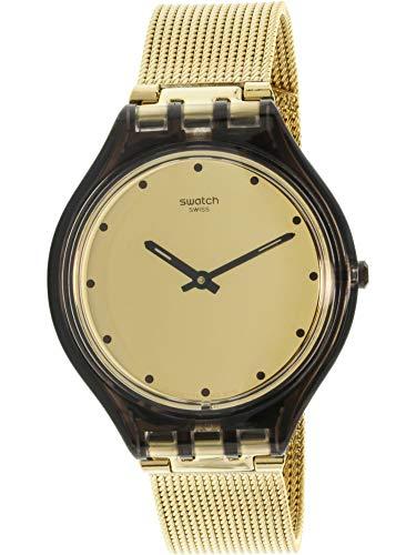 Swatch Skin skinmoka Oro Dial Acero Inoxidable Acero Damas Reloj