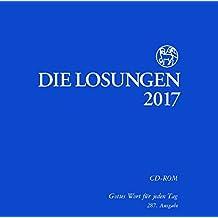 Die Losungen 2017, 1 CD-ROM Gottes Wort für jeden Tag