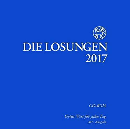 Die Losungen 2017, 1 CD-ROMGottes Wort für jeden Tag (Religiöse Meditations-cds)