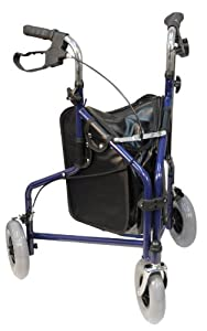 Aidapt Tri Walker with Bag Blue (Eligible for VAT relief in the UK)