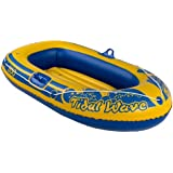 "Childs 56"" Rubber Boat Dinghy Inflatable Swimming Pool Beach Toy"