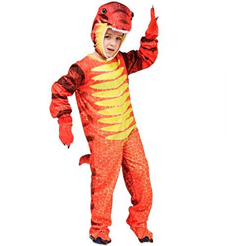 ostüm Tier Kostüm (Triceratops / Tyrannosaurus / Stegosaurus) (S: 4-6 Jahre, Tyrannosaurus) ()