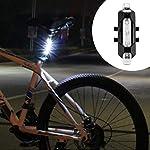 41TJz4ZJwgL. SS150 Leynatic Luci Bicicletta LED, Luci Bicicletta Ricaricabili USB, Impermeabile, 800 Lumen Super Potente, Illuminazione a 5…