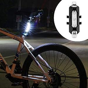 41TJz4ZJwgL. SS300 Nozdom Fanalini Posteriori Bicicletta, Luci Posteriori Bici LED USB Ricaricabile Luci Fanalini Impermeabile per Bicicletta Sicurezza