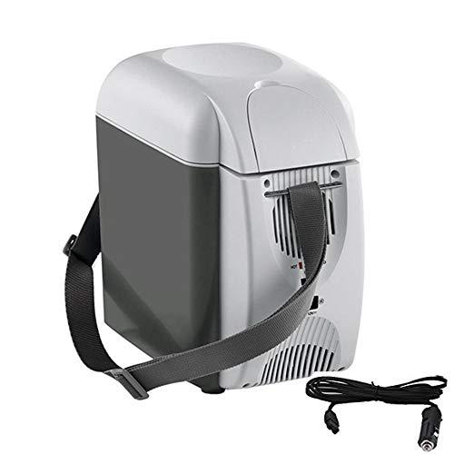 Refrigerador para Autos, Mini Caja de enfriamiento, Refrigerador termoeléctrico de 7 litros...