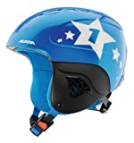 ALPINA Kinder Carat Skihelm Blue-Star 51-55 cm
