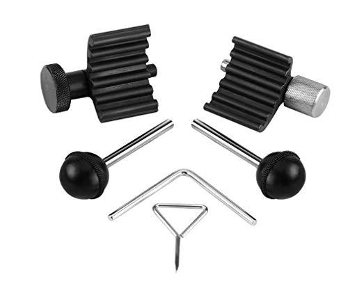 HYCy Diesel Engine Timing Tool Kit, 6 Pcs Diesel Engine Timing Crank Locking Tool für VW Audi 1,2 1,4 1.9 2.0 TDI PD